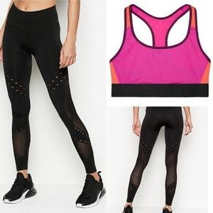 Victoria Secret sport 2pc yoga/work out SET S NWT